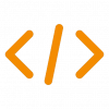 Code icon by Thierry Rivette for you website services